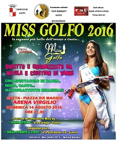 Miss Golfo 2016: All'Arena Virgilio la più bella dell'estate gaetana